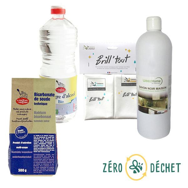 Packs Zéro Déchet - Pack découverte Zéro Déchet Ménage écologique