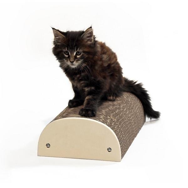Homycat - Griffoir pour chat Demi-rond 22 x 38 x 10cm