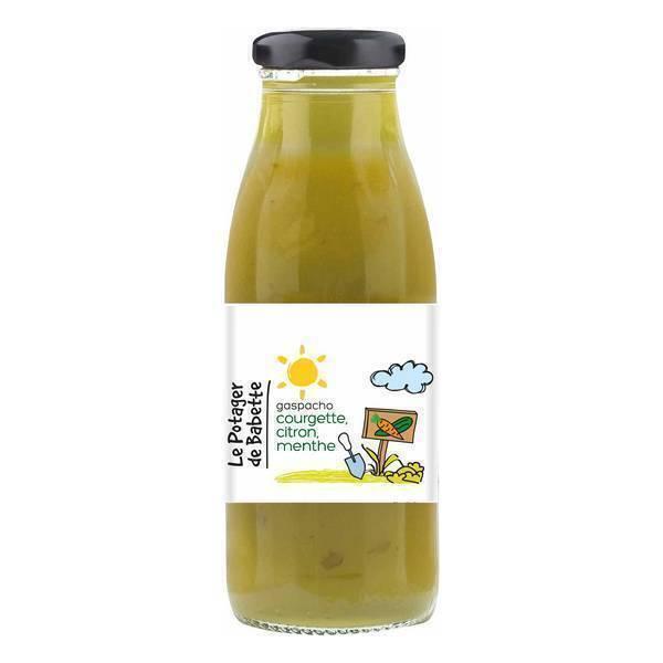 Le potager de Babette - Gaspacho courgette citron menthe 490ml