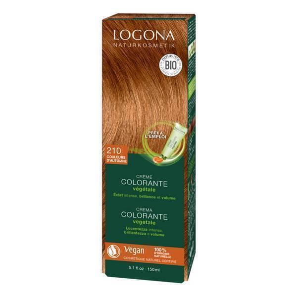 Logona - Crème colorante végétale Couleurs d'automne 150ml