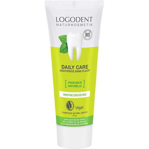 Logona - Dentifrice à la menthe Daily Care Fraîcheur naturelle 75ml