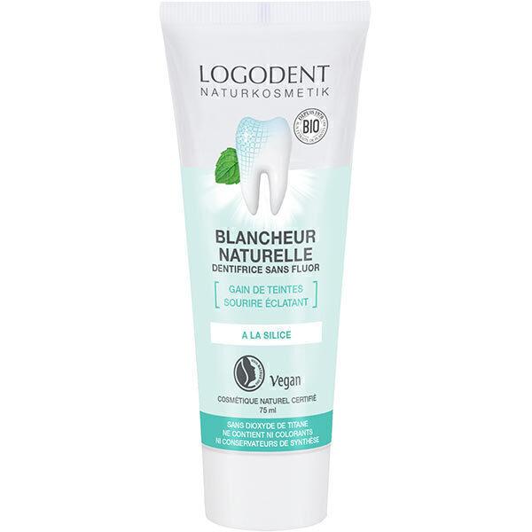 Logona - Pâte dentifrice blancheur naturelle 75 ml