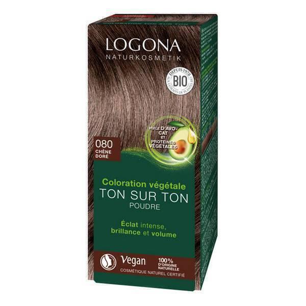 Logona - Soin colorant 100% Chêne doré 100g