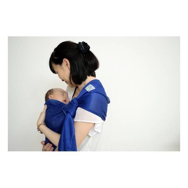 Lucky - Echarpe de portage Sling Sukkiri Bleu