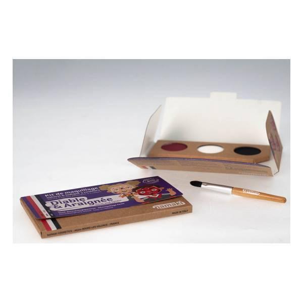 Namaki - Kit de maquillage Diable & Araignée - 3 couleurs