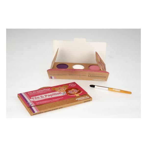 Namaki - Kit de maquillage Fée & Papillon - 3 couleurs