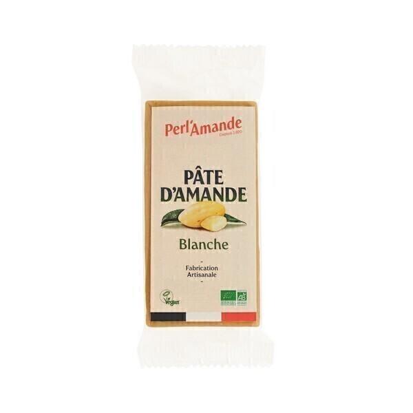 Perlamande - Pâte d'Amande Bio NATURE 200g