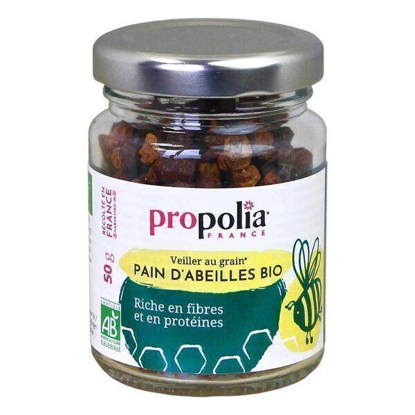 Propolia - Pain d'abeilles - Pollen bio - Pot de 50g
