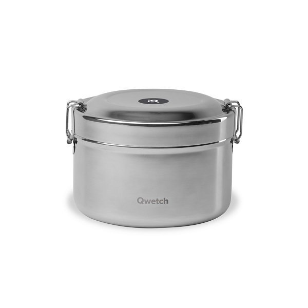 Qwetch - Bento isotherme Inox 85cl