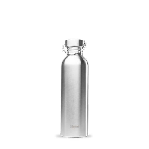 Qwetch - Gourde simple paroi inox 1L