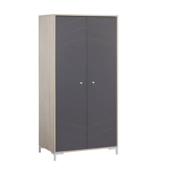 Sauthon - Armoire Dark Grey