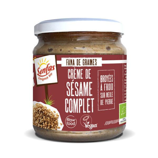 Senfas - Crème de sésame complet 300g