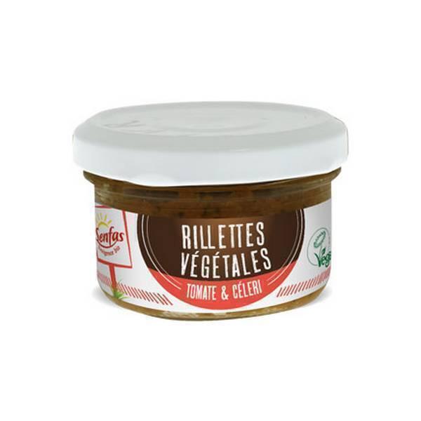 Senfas - Rillettes végétales Tomate-céleri 90g