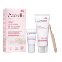Acorelle - Creme depilatoire visage  zones sensibles 75ml