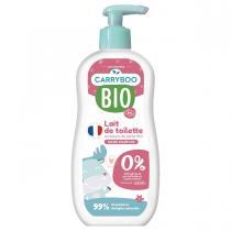 Carryboo - Lait de Toilette Ultra Doux BIO Sans Parfum (500ml)
