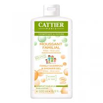 Cattier - Gel moussant Familial sans sulfates 500ml