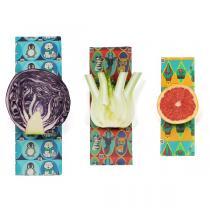 Cosse Nature - Lot 3 emballages réutilisables cire végétale Enfants