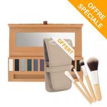 Couleur Caramel - Palette eye essential 2 + 1Kit pinceau offert