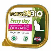 Forza 10 Bio - Pâtée pour chat bio barquette Boeuf 85g