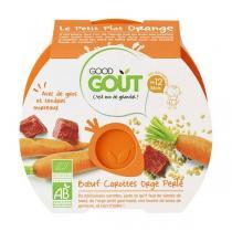 Good Gout - Lot de 2 x Assiette Boeuf Carottes Orge Perlé dès 12 mois