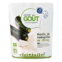 Good Gout - Lot de 2 x Plat Risotto de Courgettes au Chèvre dès 8 mois