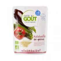 Good Gout - Lot de 2 x Plat Ratatouille de Quinoa dès 6 mois - 2 x 190g