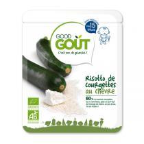 Good Gout - Lot de 2 x Plat risotto de courgette au chèvre dès 15 mois