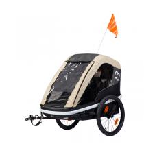 Hamax - Remorque vélo enfant Avenida Twin Café