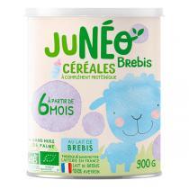 Junéo - Céréales à complément protéinique Brebis - Dès 6 mois