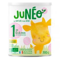 Junéo - Lait pour nourrissons 1er âge 900g - De 0 à 6 mois