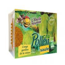 L'Abeille Heureuse - Lot de 3 boites de Pollen cru de Saule 250g