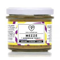 Les 3 Chouettes - Mezzé Aubergin' Tonic, à l'Aubergine-Sésame-Citron-Cumin 10