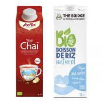 Yogi Tea - Boisson Chai Latte , Yogi Chai et riz Nature