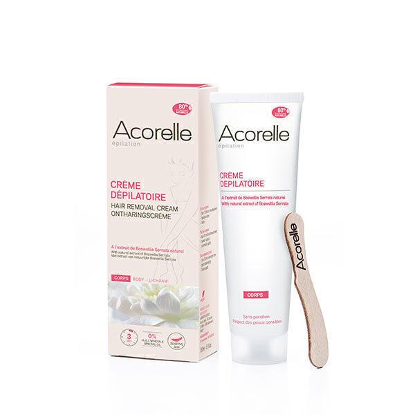 Acorelle - Crème dépilatoire corps 150ml