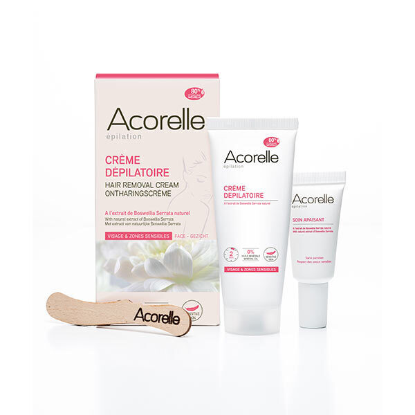 Acorelle - Crème dépilatoire visage & zones sensibles 75ml