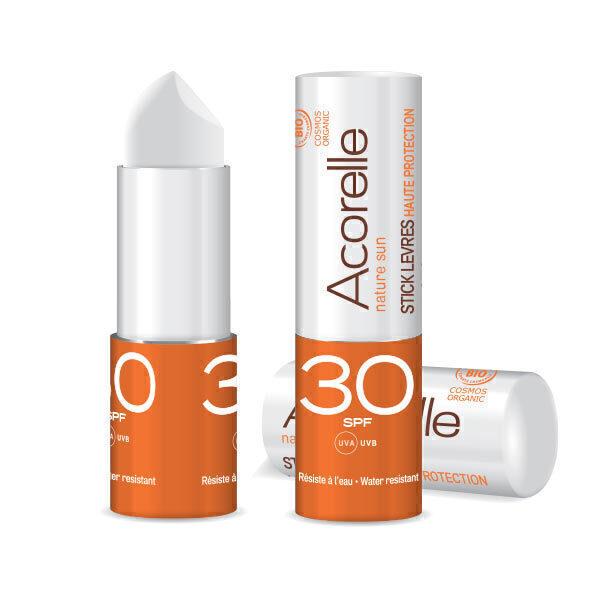 Acorelle - Stick à lèvres SPF30 4g