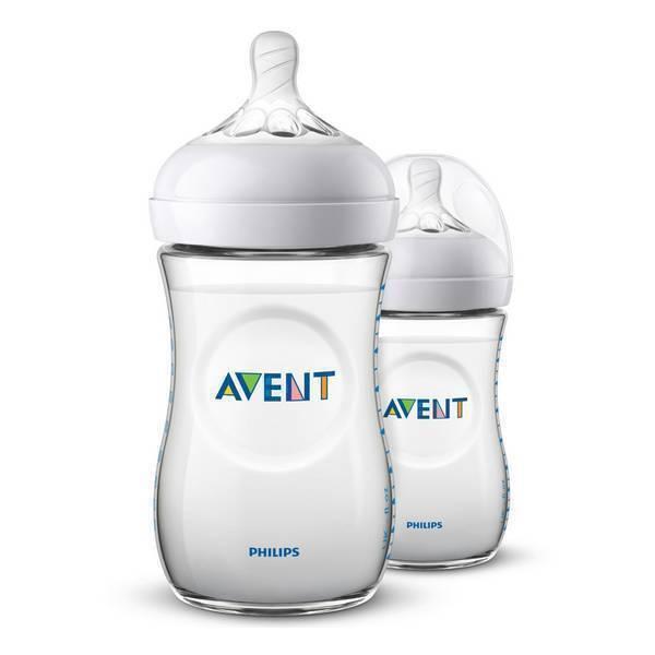 Avent - 2 Biberons Natural - 260ml