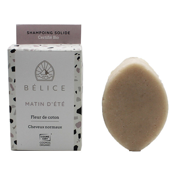 Belice - Shampoing solide Matin d'été - cheveux normaux 85g