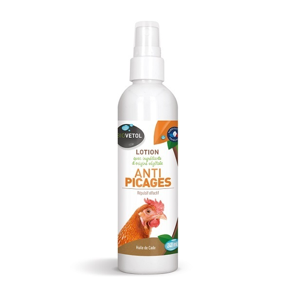Biovetol - Lotion anti-picages basse-cour 240ml