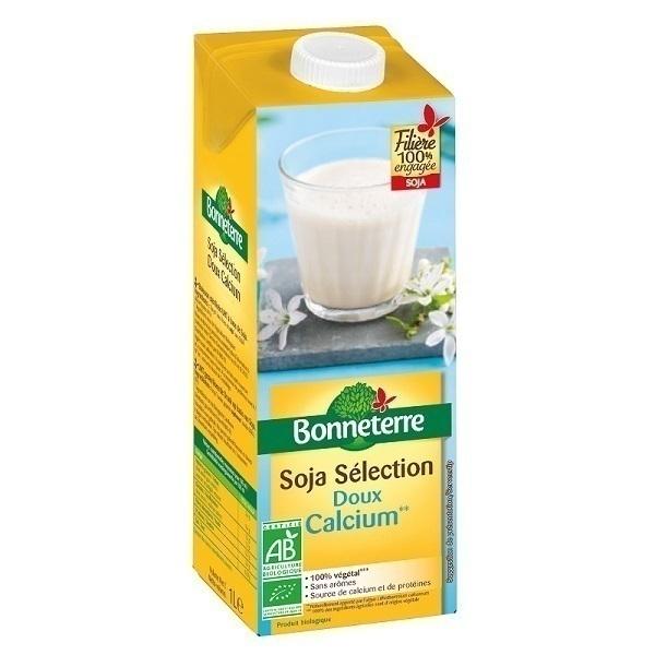 Bonneterre - Boisson Soja doux calcium 1L