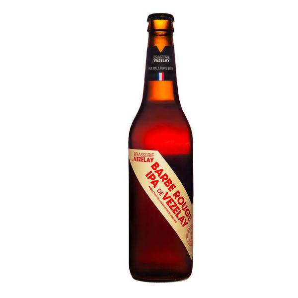 Brasserie de Vézelay - Bière IPA Barbe Rouge de Vézelay 50cl