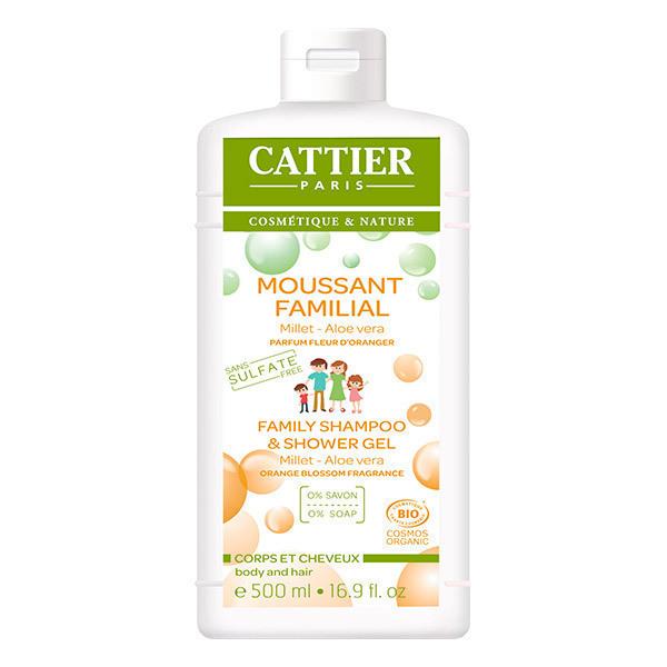 Cattier - Gel moussant Familial sans sulfates 500ml