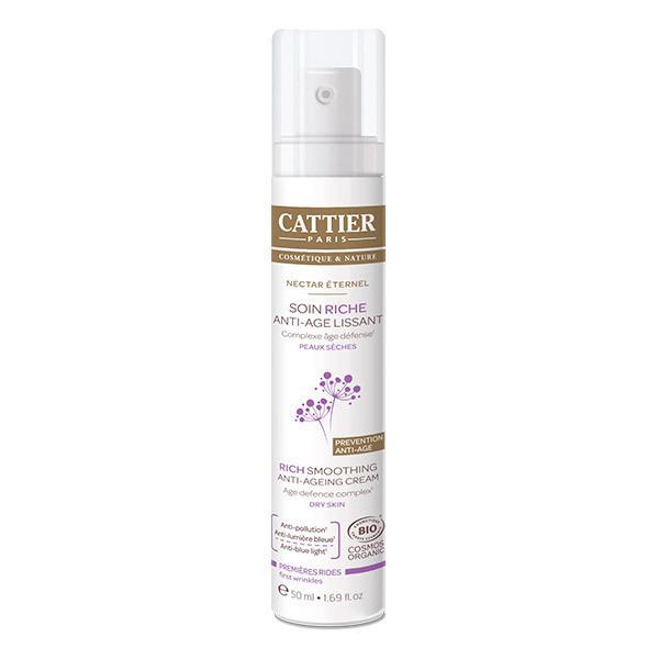 Cattier - Soin riche anti-âge lissant Nectar éternel 50ml