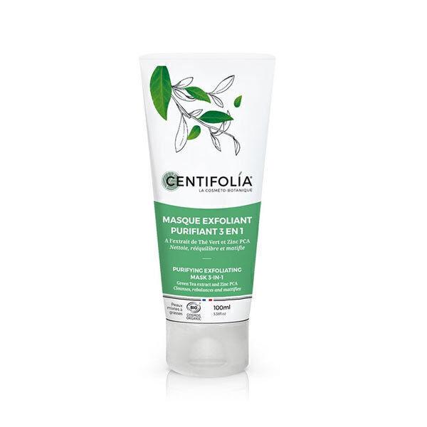 Centifolia - Masque exfoliant purifiant 3 en 1 - 100ml