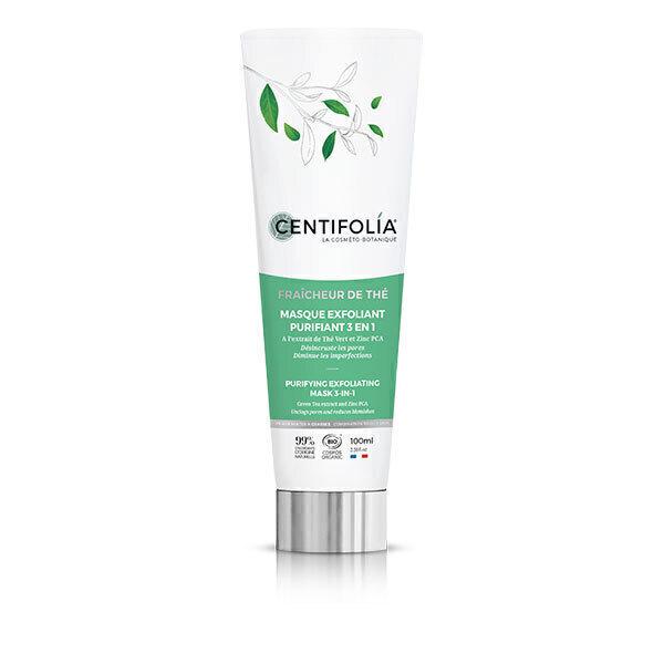 Centifolia - Masque exfoliant purifiant 3en1 100ml