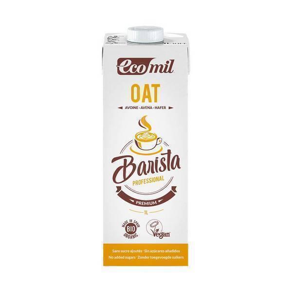EcoMil - Boisson Avoine Bio pour Barista 1L