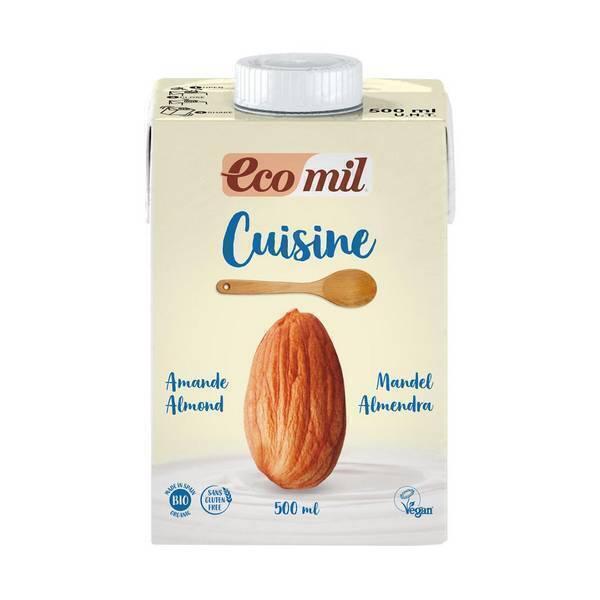 EcoMil - Crème Cuisine Amandes 500ml