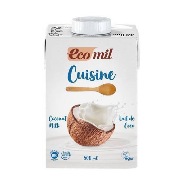 EcoMil - Crème cuisine au lait de coco 500ml