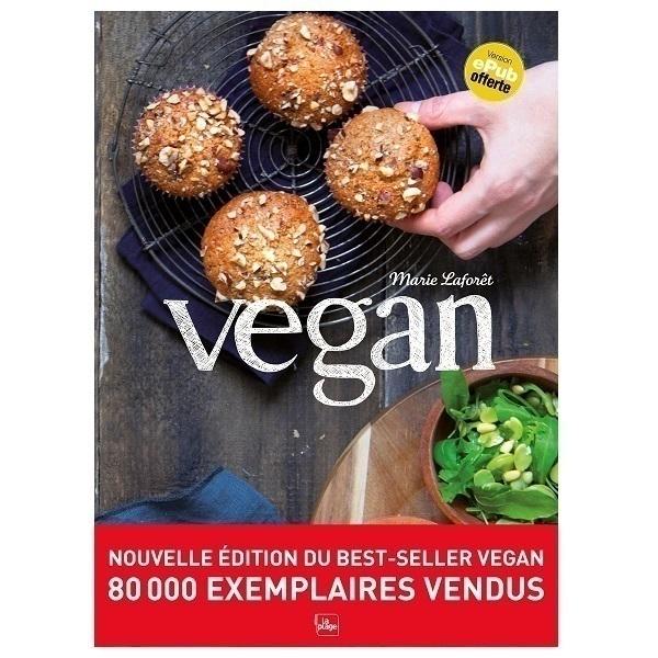 Editions La Plage - Vegan, nouvelle édition - Livre de Marie Laforêt
