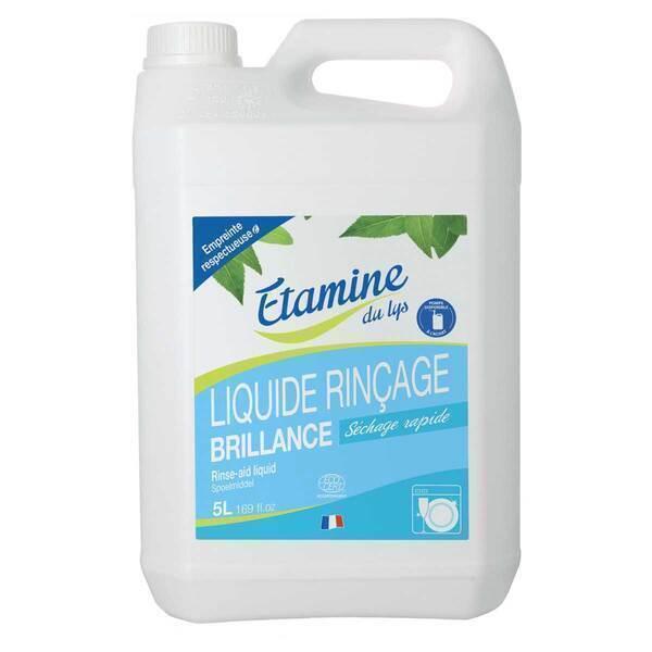 Etamine du Lys - Liquide rinçage lave-vaisselle 5L